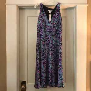 Multi-color size 10 cocktail dress my Laundry